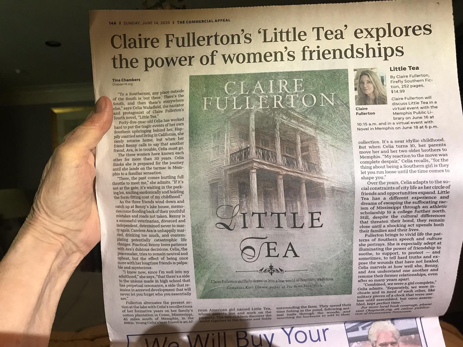 Commercial Appeal Little Tea