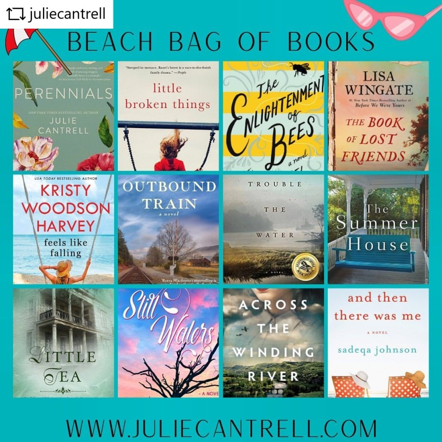 Giveaway of A Beach Bag Full of Books! Scroll Through to Enter to Win!