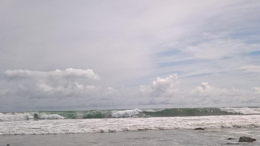 Waves at High Tide: Malibu,California